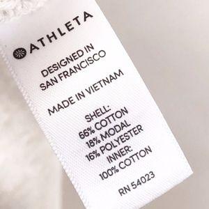 Athleta Tops - athleta | roamer pullover nude sweatshirt sz L